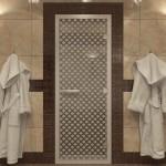 """Дверь для Хамама """"Мираж"""" прозрачная"""