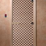 """Дверь для сайта """"Мираж"""" бронза"""