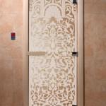 "Двери для саун ""Флоренция"" прозрачная"