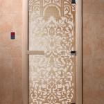 "Двери для саун ""Флоренция"" сатин"